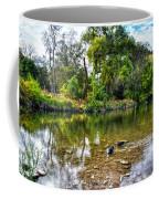 Peaceful Morning On Cibolo Creek Coffee Mug