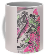 Peach Blossom And Water Buffalo Coffee Mug