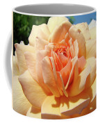 Peach Rose Art Prints Roses Flowers Giclee Prints Baslee Troutman Coffee Mug
