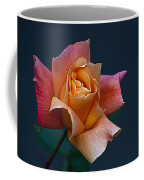 Peach Rose Bud Coffee Mug