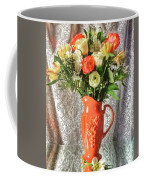 Peach Roses - Mini Coffee Mug
