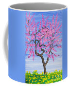 Peach Tree, Painting Coffee Mug