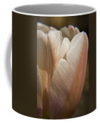 Peach Tulip Coffee Mug