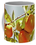 Peaches On The Tree Coffee Mug