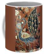 Peacock Among Flowers Coffee Mug