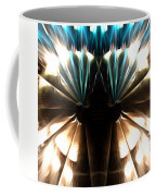 Peacock Art In Abstract Coffee Mug