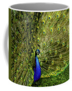 Peacock At Frankenmuth Michigan Coffee Mug