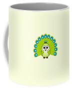 Peacock  - Birds - Art For Kids Coffee Mug