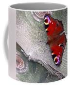 Peacock Butterfly Coffee Mug