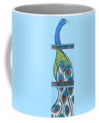 Peacock II Coffee Mug