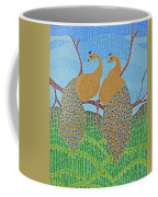 Peacock Love Coffee Mug