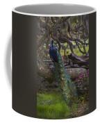 Peacock On The Plantation Coffee Mug