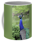 Peacock Portrait #3 Coffee Mug