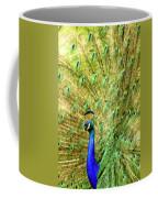 Peacock Prancing Coffee Mug