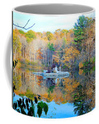 Peak Autumn Reflection 6 Coffee Mug