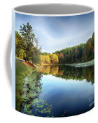 Peaks Of Otter Reflection Coffee Mug