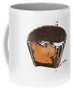 Peanut Butter Cup Coffee Mug by Linda Woods