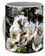 Pear Blossoms And Bee Coffee Mug
