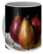 Pear Trio Still Life Coffee Mug