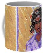 Pearl At The Clothes Press Coffee Mug