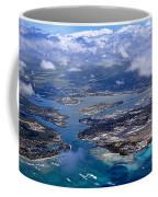 Pearl Harbor Aerial View Coffee Mug