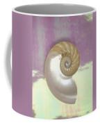 Pearl Nautilus Shell Coffee Mug