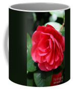 Pearl Of Beauty - Red Camellia Coffee Mug