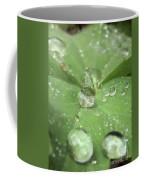 Pearls On Leaf Coffee Mug