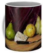 Pears And Cheese Coffee Mug by Jack Skinner