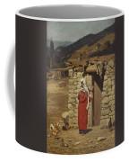 Peasant Carrying Water Coffee Mug