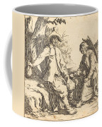 Peasant Couple At Rest Coffee Mug