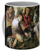 Peasants At The Market Coffee Mug