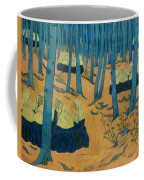 Peasants Gathered In A Sacred Wood_ Coffee Mug