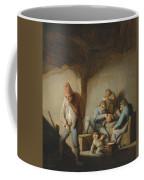 Peasants In The Interior Of An Inn Coffee Mug