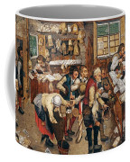 Peasants Paying Tithes By Pieter Bruegel I Coffee Mug