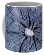 Pebble On The Star In The Log Coffee Mug