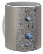 Pebbles Of Blue Coffee Mug