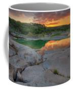Pedernales River Sunrise, Texas Hill Country 8257 Coffee Mug