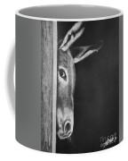 Peek-a-boo Burro Coffee Mug