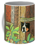 Peek-a-boo Fence Coffee Mug