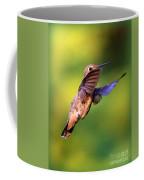 Peek-a-boo Hummingbird Coffee Mug