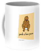 Peek A Boo Pose 2 Coffee Mug