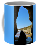 Peeking From Coastal Cave Coffee Mug