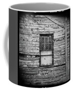 Peeling Wall And Cool Window At Fort Delaware On Film Coffee Mug