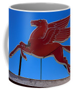 Pegasus Oil Sign Coffee Mug