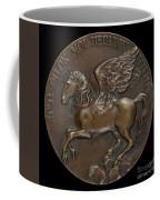 Pegasus Soaring Above Parnassus [reverse] Coffee Mug