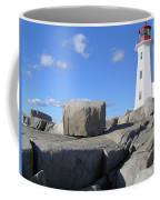 Peggys Cove Light House Coffee Mug
