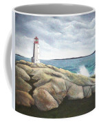 Peggys Light Nova Scotia Coffee Mug
