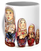 Pelagea With Kitten Coffee Mug