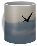 Pelican At Dusk Coffee Mug
